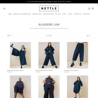BLUEBERRY JAM – Nettle Studios