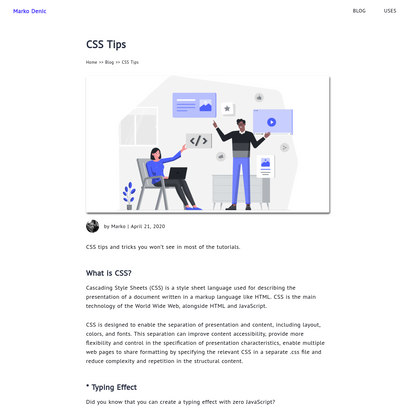 CSS Tips