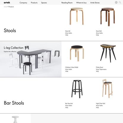 Artek - Products