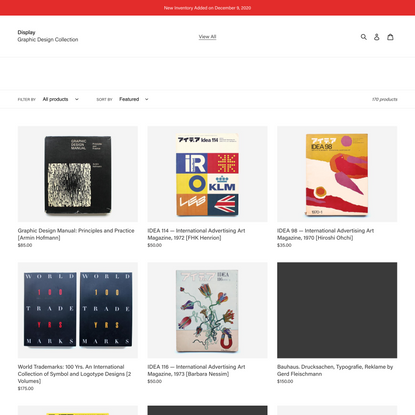 View All – Display, Graphic Design Collection