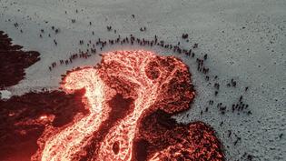People gathered around lava, Iceland..jpeg