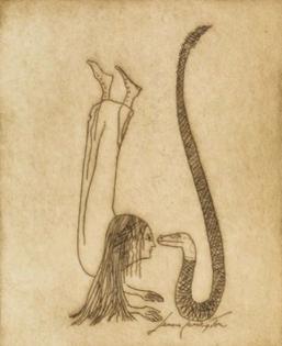 Leonora Carrington from the series Una Vita Surrealista