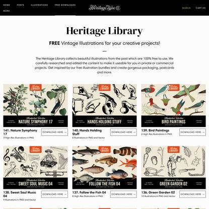 Heritage Library - Free Vintage Illustrations