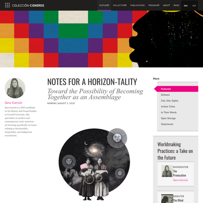 Notes for a Horizon-tality