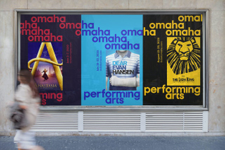 Eddie Opara / Pentagram. Omaha Performing Arts (2021)