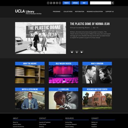 UCLA Film & Television Archive