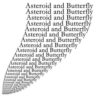 やのとあがつま - Asteroid and Butterfly