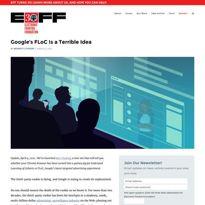 Google's FLoC Is a Terrible Idea