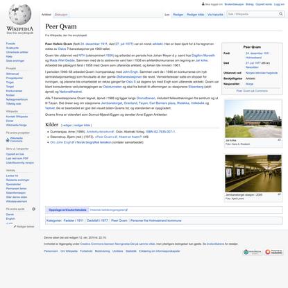Peer Qvam – Wikipedia