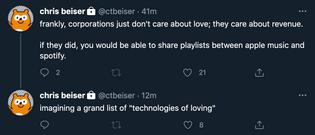 technologies of loving