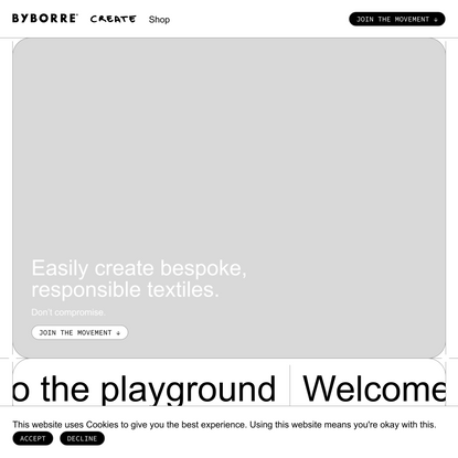 Create™ | BYBORRE