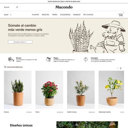 Macondo Shop