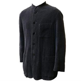 issey miyake textured jacket