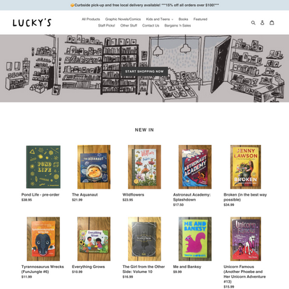 Lucky's Books and Comics