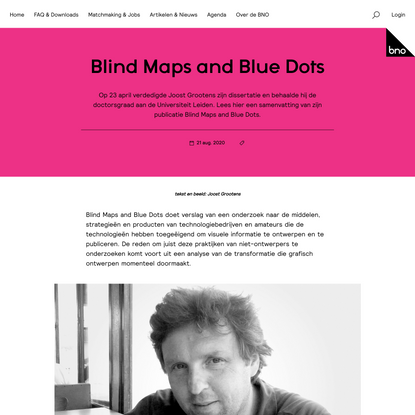Blind Maps and Blue Dots