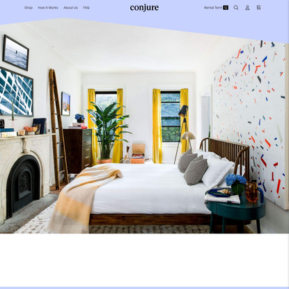 Conjure: NYC Furniture Rental. Simplified.