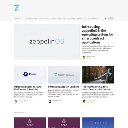 Zeppelin Solutions
