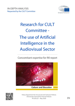 Research for CULT Committee - The use of Artificial Intelligence in the Audiovisual Sector