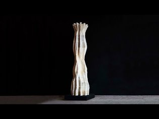 Lovely Trash - Mycelium 3d printing from waste