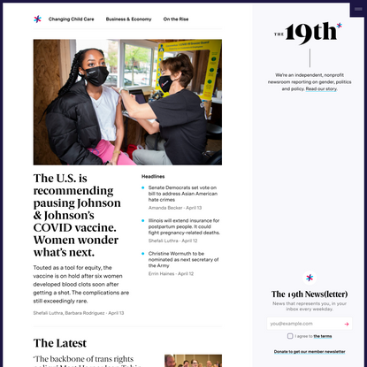 The 19th News | An independent, nonprofit newsroom.
