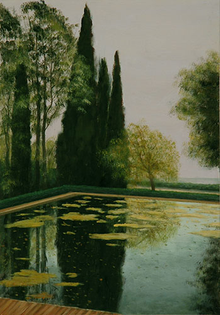 Reflection of the Cypresses - Carme Llop