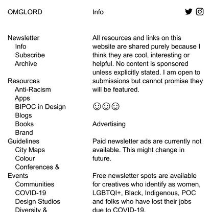 info — OMGLORD