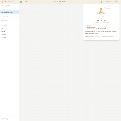 natto.dev   interactive JavaScript space