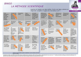 Bingo la méthode scientifique