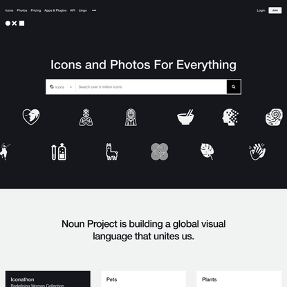 Noun Project: Free Icons & Stock Photos for Everything