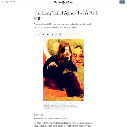 The Long Tail of Aphex Twin's 'Avril 14th'