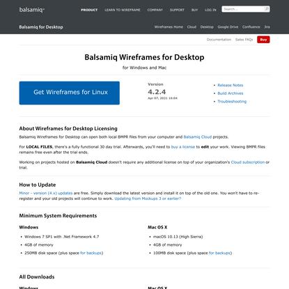 Balsamiq for Desktop - Fast, Powerful, Offline Wireframing | Balsamiq