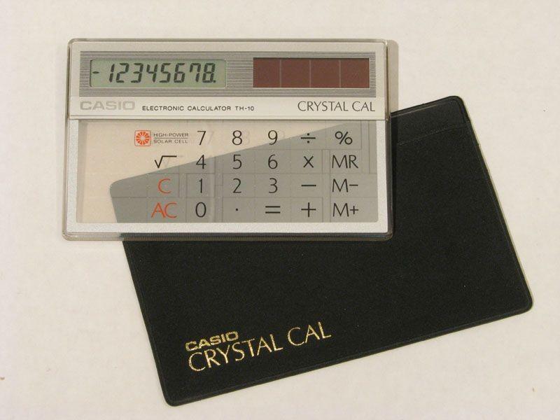 Casio Crystal Cal calculator