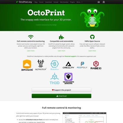 OctoPrint.org