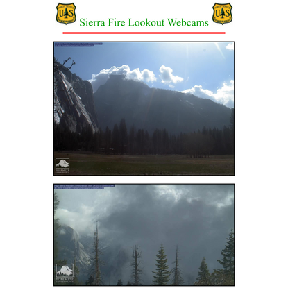 Sierra Fire Lookout - Live forest Cams