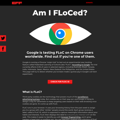 Am I FLoCed?
