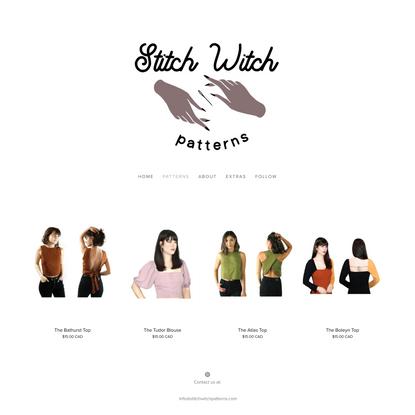 Patterns — Stitch Witch Patterns