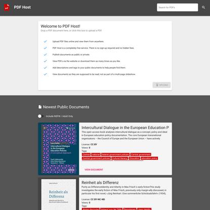 PDF Host