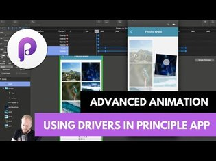 Advanced UI Animation with Drivers in Principle App