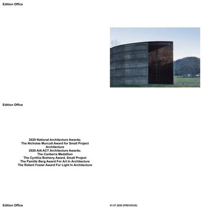 Edition Office — Architecture Studio