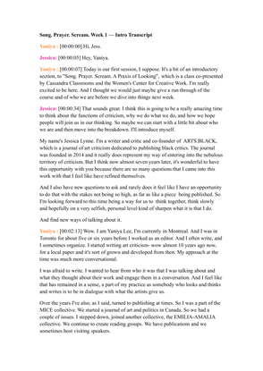 SPS Week 1 Intro Transcript