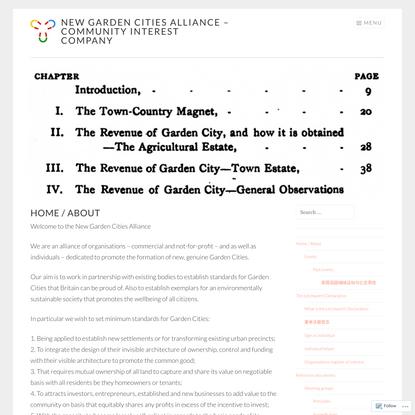 New Garden Cities Alliance - Community Interest Company