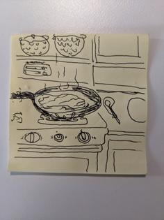 Dream no. 3: Mom's leftover steak