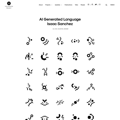 AI Generated Language Isaac Sanchez – The Phaistos Project