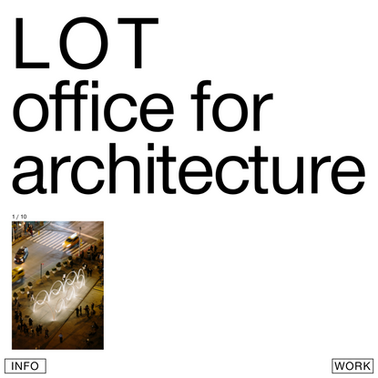 LOT office for architecture