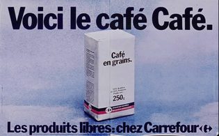 """""""Here's the Coffee coffee"""" - Carrefour"""