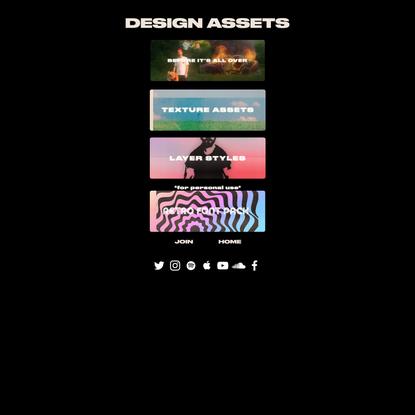 DESIGN ASSETS | Andrey Azizov