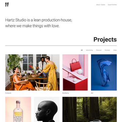 Hartz Studio – Made with love