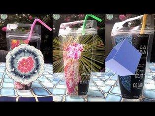 "Augmented Reality Drinks To-Go - ""Hanami"" - ARTECHOUSE DC"