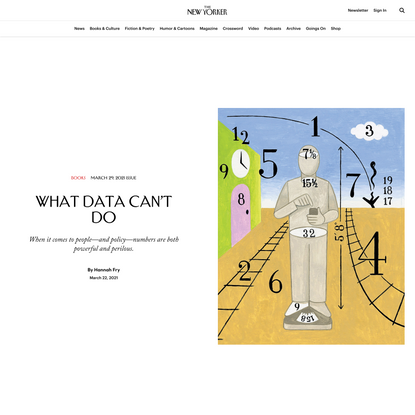 What Data Can't Do