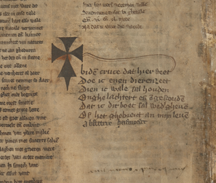 Medieval book curses (for book thieves)